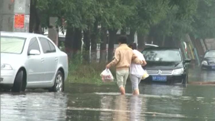 聊城暴雨袭城 平均降水量达41.0毫米