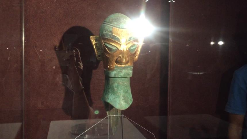 """周三来看""""太阳的传说""""! 三星堆、金沙遗址出土文物在山东博物馆展出"""