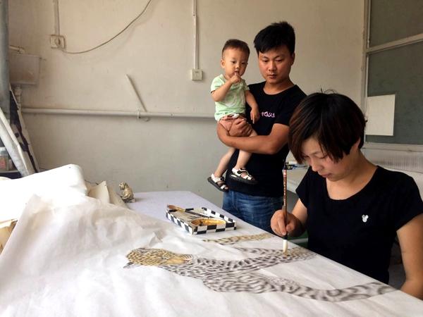 曹县:书画与扶贫紧密结合 打造出特色书画脱贫路
