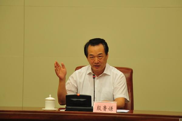 殷鲁谦同志讲党课:加强党的领导,做好人大工作