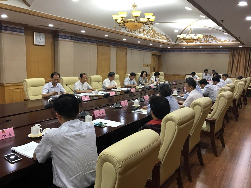 上海市政协考察组来鲁考察