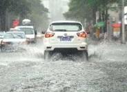 海丽气象吧丨瓢泼大雨突袭济南!历山路、工业南路等路段出现积水