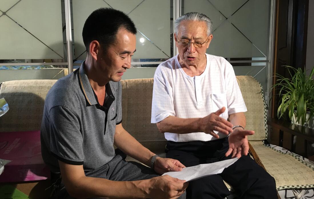 七七事变80周年|89岁山东老人终圆梦 小时候的抗战歌曲传回母校