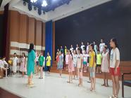 第八届中国少年儿童合唱节即将开幕 记者探班日照参赛合唱团