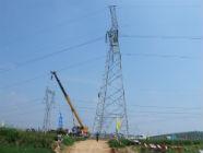 国网日照供电公司8条线路加高改造 服务潍日高速建设