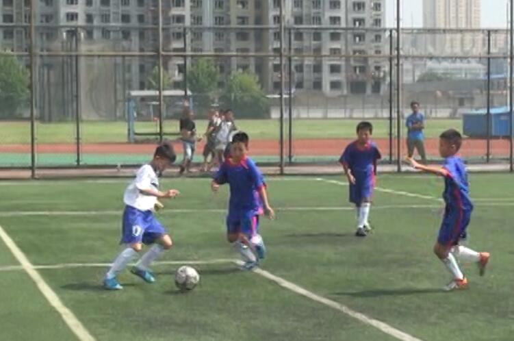 济南校园足球好苗子不断涌现 场地、教练员成最大瓶颈
