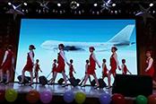 山东交通技师学院4名学生备战中国美丽城市公益旅游形象大使暨最美空姐大赛