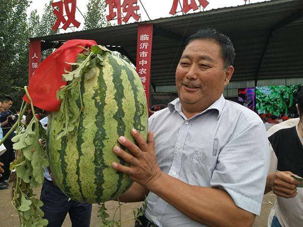 以瓜为媒助农增收 沂南县首办临沂市西瓜大赛