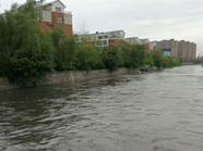 枣庄最大点雨量达220毫米 部分老城区低洼区现积水
