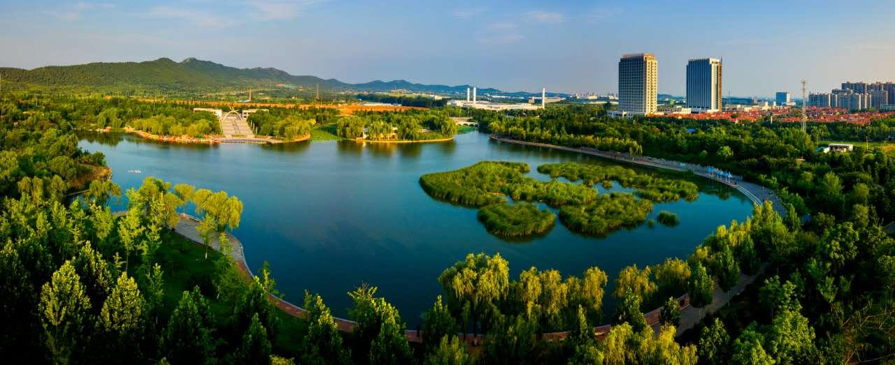 济南�y�k8�Z릚�Rע�_济南彩虹湖:那只黄苇鹣常去的彩虹湖全景来了!