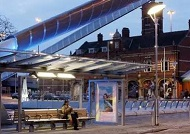 济南户外广告禁设区内四种可设情形公布 每个公交车站限设1块