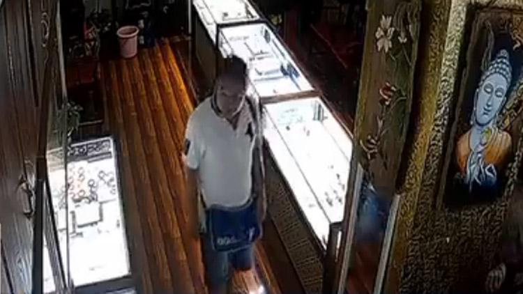 全城通缉!济南一男子盗走万元珠宝 警方公布视频通缉
