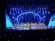 第八届中国少年儿童合唱节曲目彩排中 今晚8点正式上演