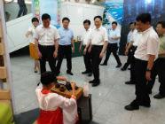 日照圣谷山设品茶站服务参赛人员 助力第八届中国少儿合唱节