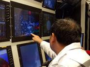 """""""科学""""号在南海首次完成科考装备深海对接"""