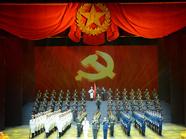 山东省庆祝建军90周年文艺演出《我们的队伍向太阳》在济举行
