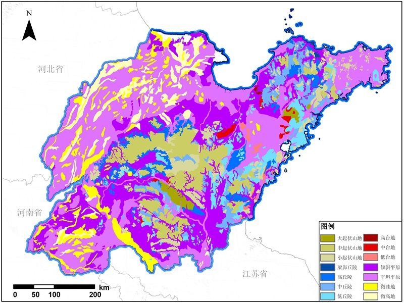 山东发布地理国情大数据 相当于省级图书馆馆藏数据量