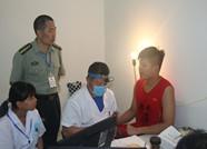 2017年征兵体检工作在惠民县人民医院如期开展