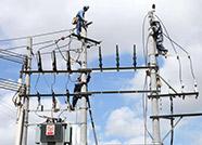 无棣县供电公司积极开展雨后特巡工作