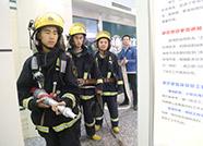 无棣供电公司联合消防大队开展消防应急演练