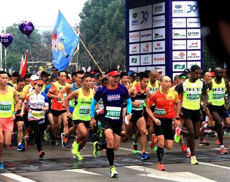 青岛国际马拉松赛11月举行 25000余人参赛