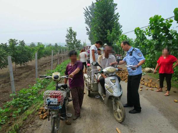 一句谣言让济宁70余亩土豆被哄抢 时隔一周仍有村民来挖