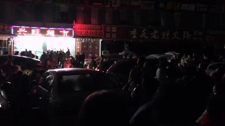 53秒丨九寨沟县发生7.0级地震,山东台记者震中报道:未恢复供电
