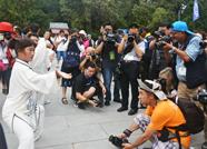 泰安迎规模空前摄影大会!全球摄影师岱庙聚焦非遗之美
