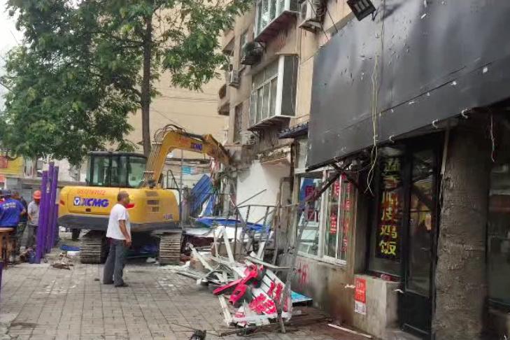 济南历下区油烟整治行动,一个办事处关停35家餐馆