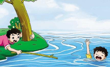 临沂:祖孙俩河边游玩滑进深水 村民奋力相救
