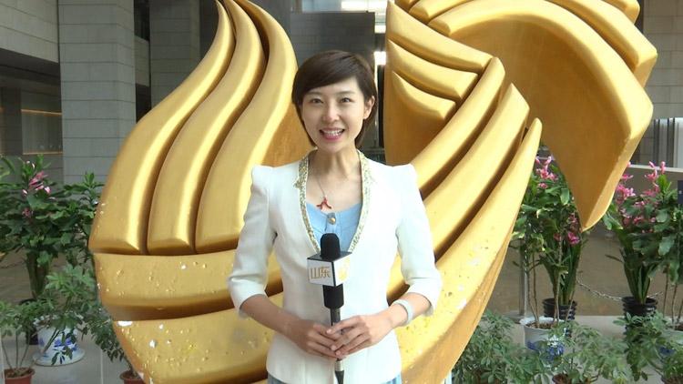 山东广播电视台潍坊百校万人公益行:艺儒带领跟读规范普通话