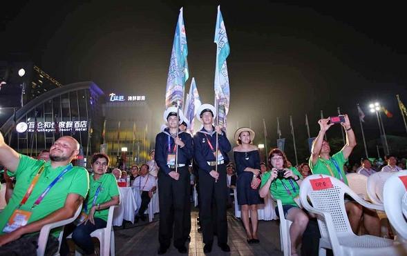 第九届青岛国际帆船周•青岛国际海洋节开幕