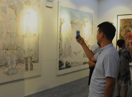 """""""新现实主义水墨研究展""""巡展在聊城举行 28位书画家参展"""