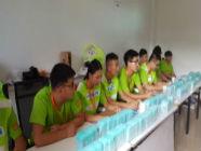 中国机器人大赛场地已完工 285名志愿者下午全上岗