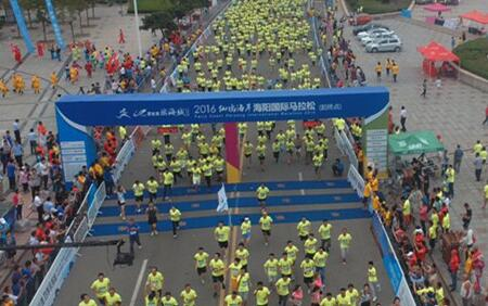 海马万名跑友敲定!年龄最大参赛者77岁 最小仅为8岁