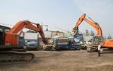 聊城对156辆拼装报废车辆进行集中拆解