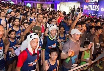 中国首场夜间国际马拉松 本周六青岛西海岸开跑