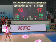 山东获得全运会女子三人篮球公开组冠军