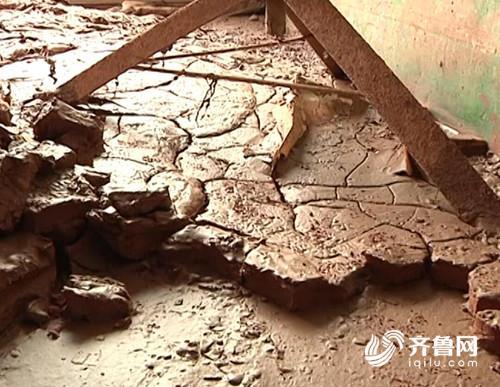 短时降雨量超过100毫米 安丘王家营多户被淹淤泥遍地