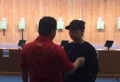 全运会女子10米气手枪预赛 张梦雪列第17名无缘决赛