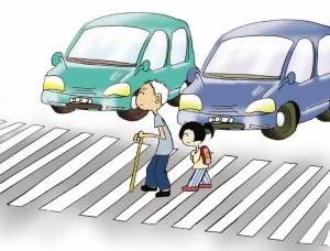济南礼让斑马线加入驾考 806人因不减速礼让致不合格