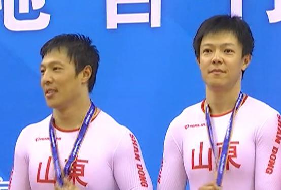 全运会看点 张磊张淼兄弟夺场地自行车团体竞速赛三连冠
