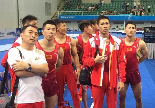 全运会体操男团决赛山东队收获第四名,张成龙为队友征婚