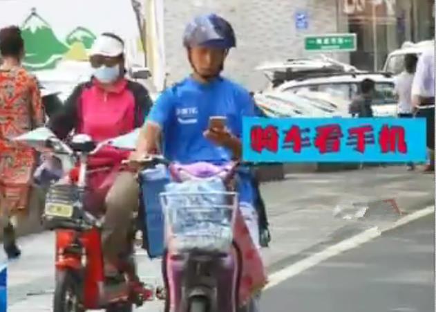 外卖交通违法难治理?山东快递小哥支招:用内部识别系统
