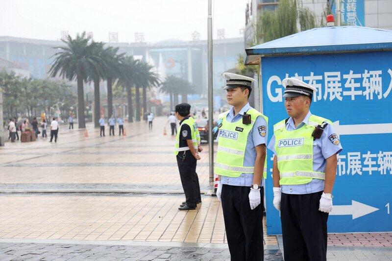 陶博会开幕式 淄博公安交警全力护航保畅通