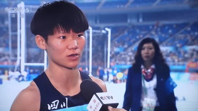 程冲夺女子4×400米冠军!全运会德州健儿5金2银完美收官