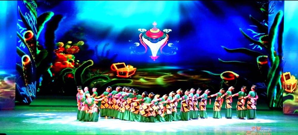 """西藏大型民族歌舞 """"吉祥日喀则""""11日济南上演"""