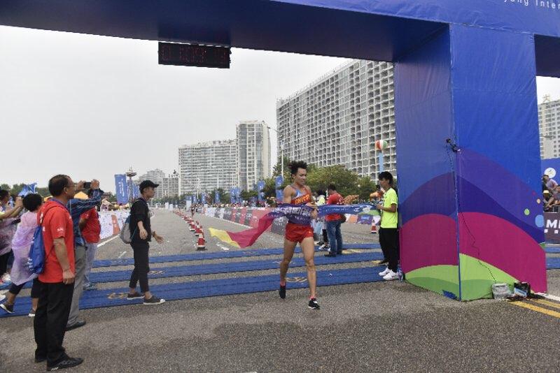喜讯!2017仙境海岸海阳国际马拉松男子半程三甲出炉