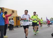 中国·宁阳首届彩山短程马拉松赛吸引千人参赛