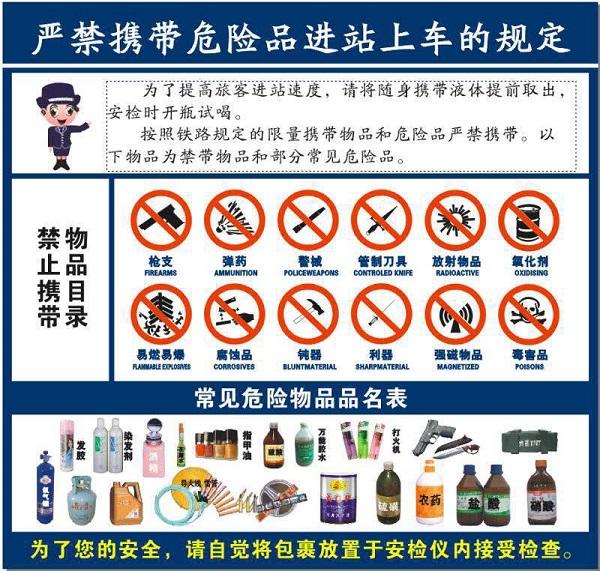 """牛奶瓶装乳胶漆 火车站""""过敏哥""""安检面前现原形"""